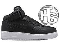 Мужские кроссовки NikeLab Air Force 1 Mid Black 819677-002