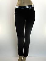 Жіночі трикотажні штани на резинці з лампасами  Mirdes