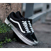 Кеды Vans old skool Black and white*** (ЧЕРНО_БЕЛЫЕ), фото 1