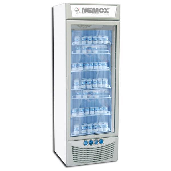 Вертикальный вентилируемый холодильник-дисплей MAGIC PRO 280B Nemox