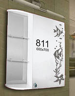 Шкафчик для ванной комнаты 600х700 мм ШК811