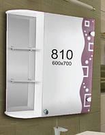 Шкафчик для ванной комнаты 600х700 мм ШК810