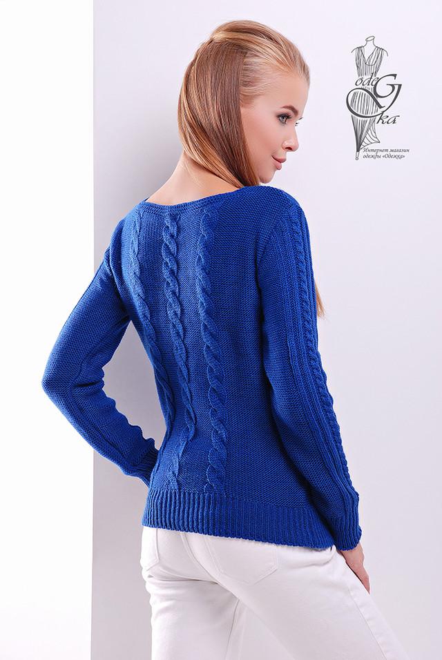 Фото-1 Женского свитера из шерсти и акрила Адель-1
