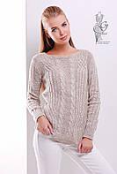 Женский свитер из шерсти и акрила Адель-12