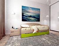"""Кровать односпальная с выдвижными ящиками """"Л-5"""", фото 1"""