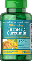 Препарат для восстановления суставов и связок Puritan's Pride Turmeric Curcumin 450 mg 90 Capsules
