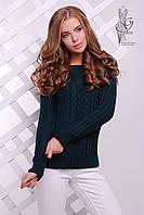 Женский свитер из шерсти и акрила Адель-13