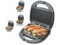 Тостер сендвич, вафли, гриль 3в1 LIVSTAR LSU-1220