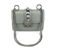 Женская сумочка через плечо | серая, фото 1