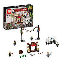 """Конструктор Ninjago Movie Lepin 06053 (аналог Lego 70607) """"Ограбление киоска в Ниндзяго Сити"""" 249 дет"""