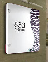 Шкафчик для ванной комнаты 535х640 мм ШК833