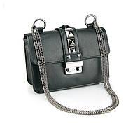 Женская сумочка через плечо   черная, фото 1