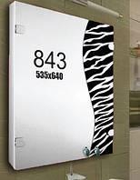 Шкафчик для ванной комнаты 535х640 мм ШК843