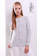 Женский свитер из шерсти и акрила Адель-2