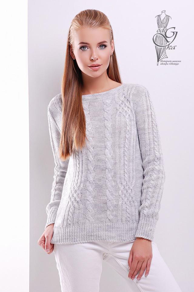 Фото Женского свитера из шерсти и акрила Адель-2