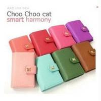 Бумажник + кейс для IPhone Choo cat