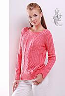 Женский свитер из шерсти и акрила Адель-3