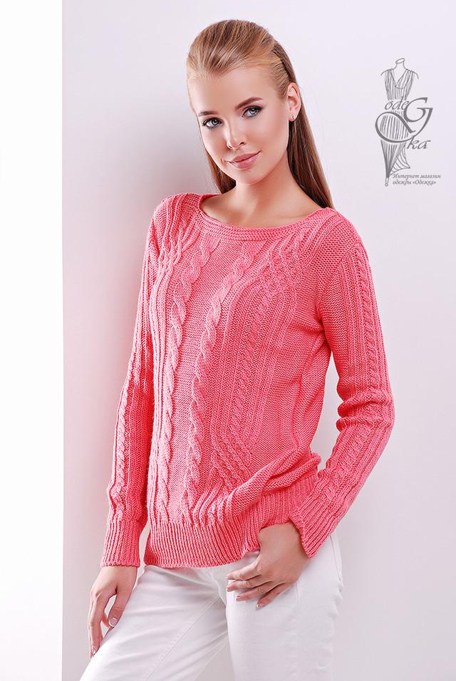Фото Женского свитера из шерсти и акрила Адель-3