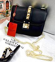 Клатч Valentino Валентино черный