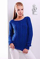 Женский свитер из шерсти и акрила Адель