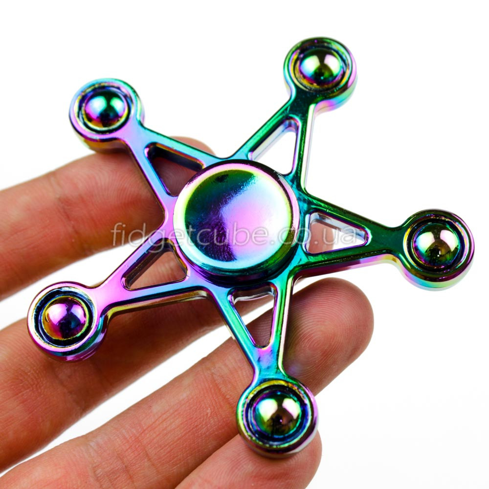 Spinner Звезда радуга Хамелеон качество ТОП 9707