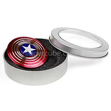 Spinner Капитан Америка красный качество ТОП 9701, фото 3
