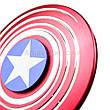 Spinner Капитан Америка красный качество ТОП 9701, фото 6
