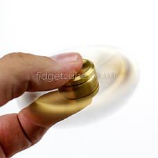 Spinner Штурвал золотого цвета качество ТОП 9705, фото 3