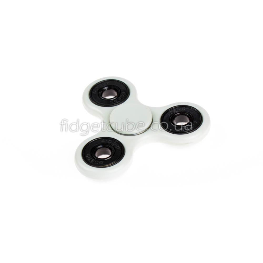 Spinner пластиковый белый качество Стандарт 9102-1