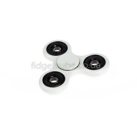 Spinner пластиковый белый качество Стандарт 9102-1, фото 2