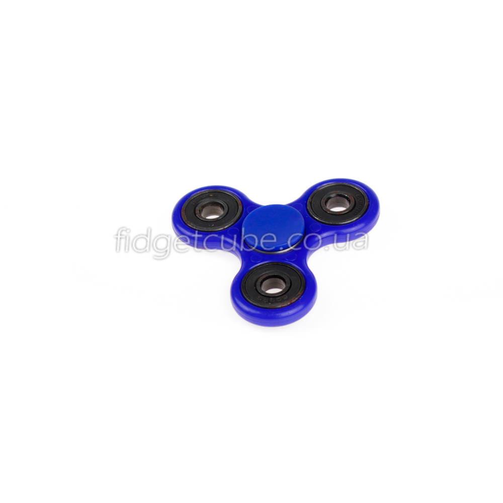 Spinner пластиковый синий качество Стандарт 9102-9