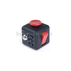 FidgetCube - 6 сторон черно-красный  - 9101-11, фото 3