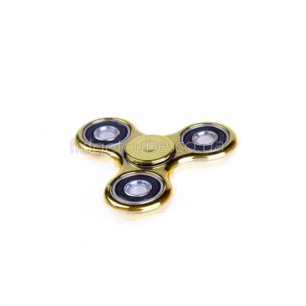 Spinner пластиковый золотой глянцевый качество Норма 9202-4
