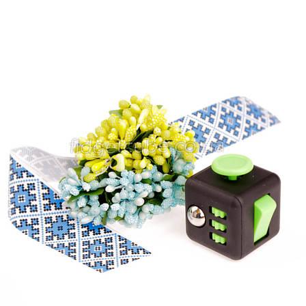 FidgetCube - 6 сторон черно-зеленый - 901-3, фото 2