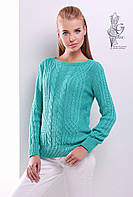 Женский свитер из шерсти и акрила Адель-5