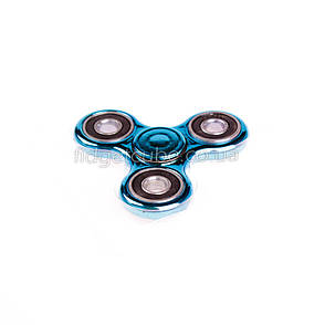 Spinner пластиковый синий глянцевый качество Норма 9202-9, фото 2