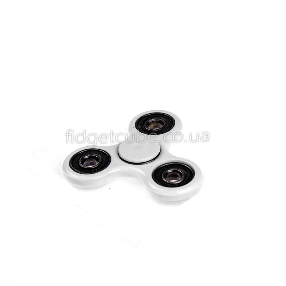 Spinner пластиковый белый матовый качество Норма 9201-1