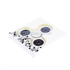 Spinner пластиковый белый матовый качество Норма 9201-1, фото 2