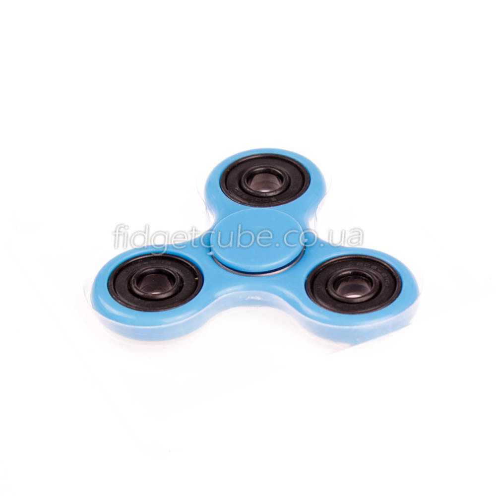 Spinner пластиковий блакитний матовий якість Норма 9201-6