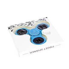 Spinner пластиковый голубой матовый качество Норма 9201-6, фото 2