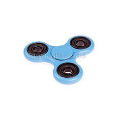Spinner пластиковый голубой матовый качество Норма 9201-6, фото 3