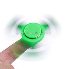Spinner пластиковый зеленый матовый качество Норма 9201-10, фото 3