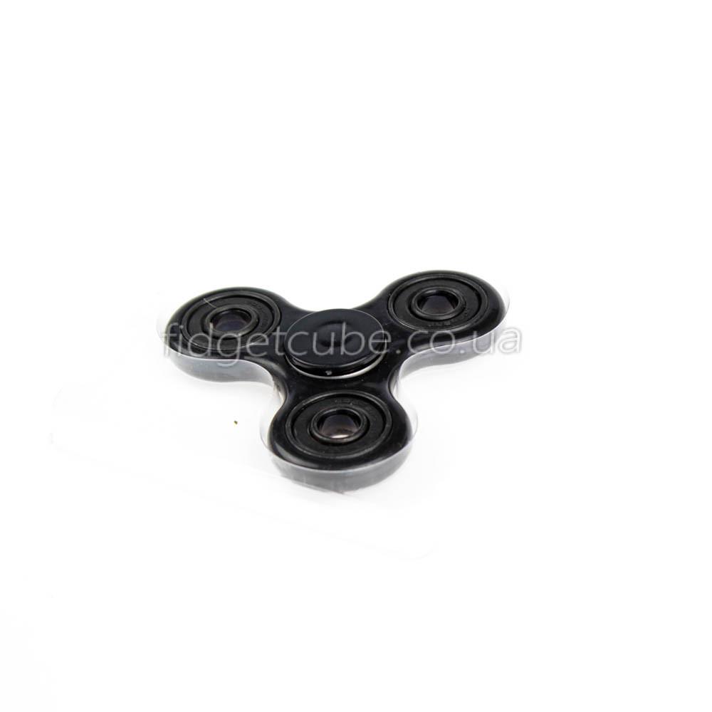 Spinner пластиковый черный матовый качество Норма 9201-2