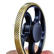 Spinner металл-пластик черно-золотой форма колесо перфорация качество ТОП 9403