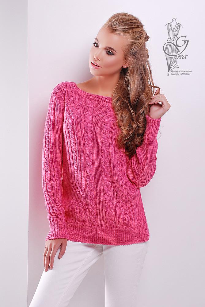 Женский свитер из шерсти и акрила Адель-6