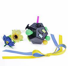 FidgetCube 2.0 - 12 сторон черно-фиолетовый - качество ТОП - 902-1, фото 3