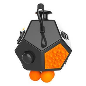 FidgetCube 2.0 - 12 сторон черный - качество ТОП - 902-3, фото 2