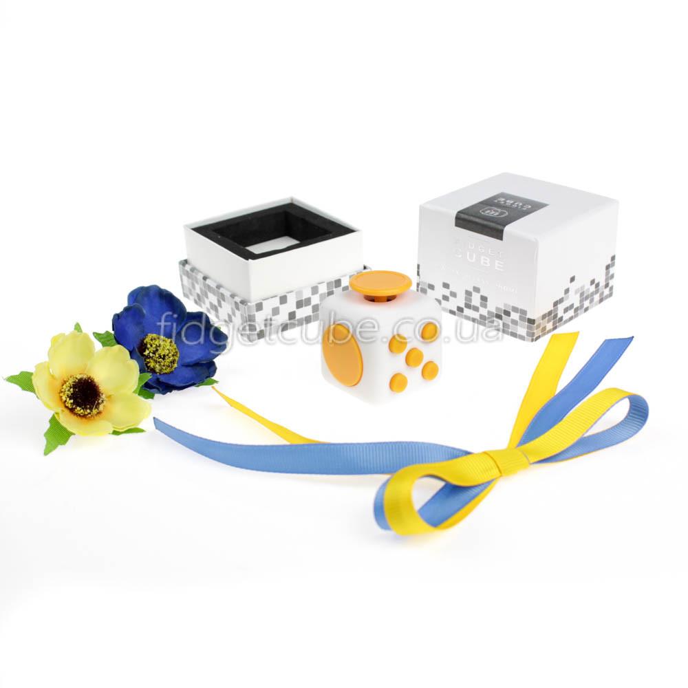 FidgetCube - 6 сторон белый - качество ТОП - 901-4