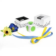 FidgetCube - 6 сторон бело-зелен- 901-7, фото 3