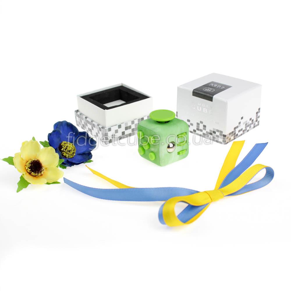 FidgetCube - 6 сторон зеленое яблоко - 901-18